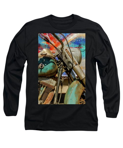 Long Sleeve T-Shirt featuring the photograph Harley Davidson - American Icon II by Bill Gallagher