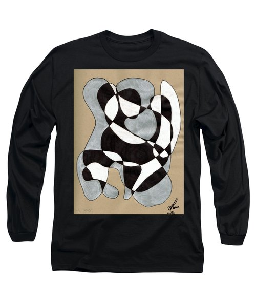 Harlequin Abtracted Long Sleeve T-Shirt