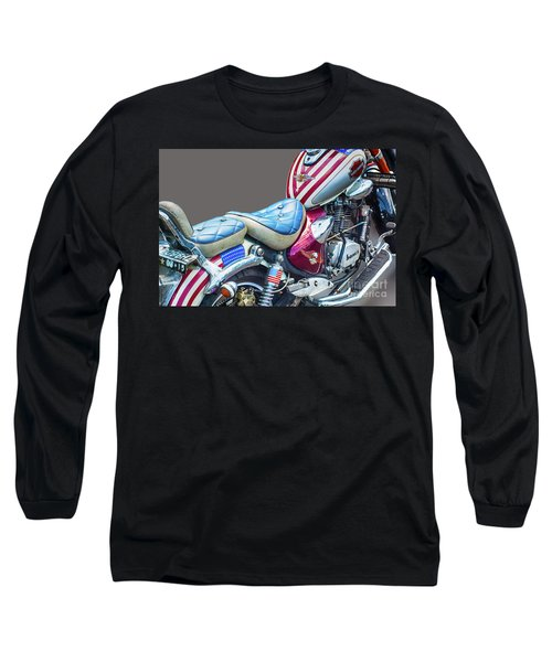 Long Sleeve T-Shirt featuring the photograph Harley by Charuhas Images