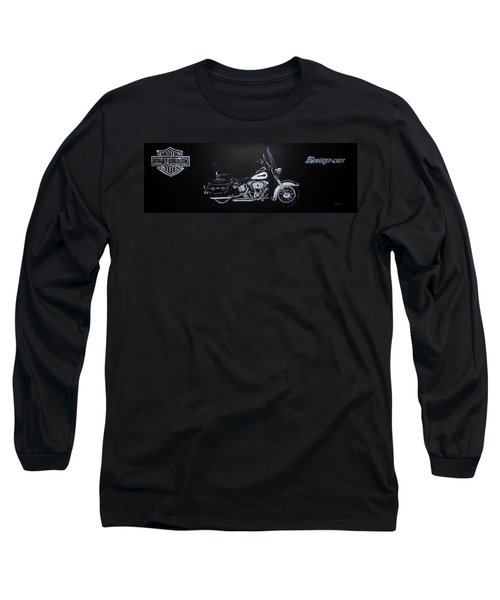 Harley Davidson Snap-on Long Sleeve T-Shirt