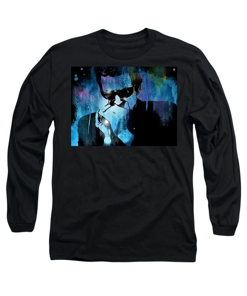 Harmonica Blues Long Sleeve T-Shirt