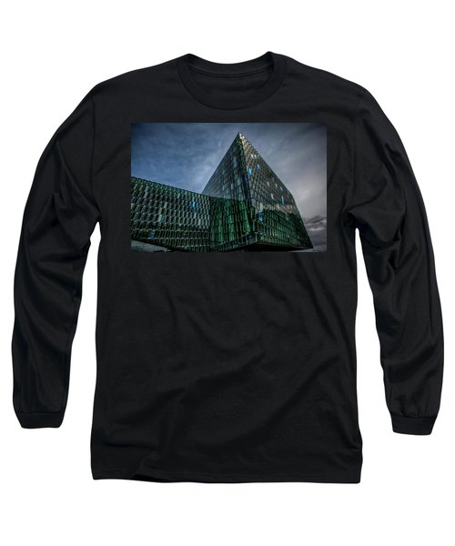Harpa Long Sleeve T-Shirt by Wade Courtney