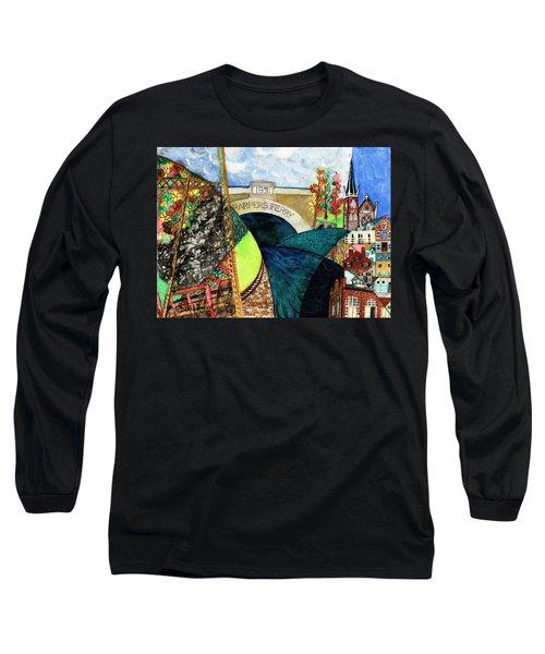Harpers Ferry Rivers, Railroads, Revolvers Long Sleeve T-Shirt