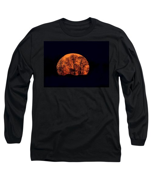 Harvest  Moon Rising Long Sleeve T-Shirt