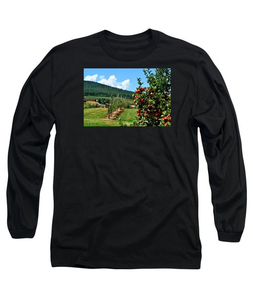 Harvest Time In The Catoctin Mountains Long Sleeve T-Shirt