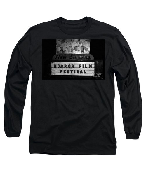 Haunted Drive In Long Sleeve T-Shirt