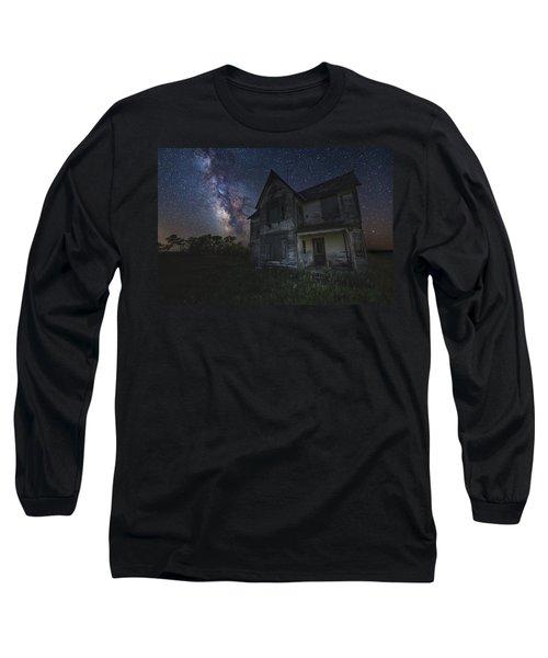 Haunted On The Prairie Long Sleeve T-Shirt
