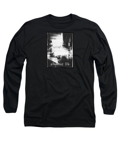 Long Sleeve T-Shirt featuring the photograph Haunted Room I by Mimulux patricia no No