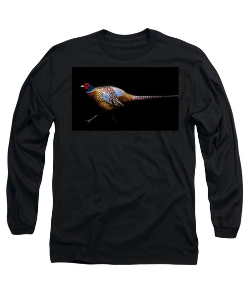 Have A Pheasant Day.. Long Sleeve T-Shirt by Martin Newman