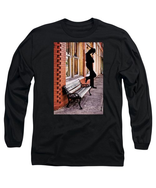 Have A Seat Long Sleeve T-Shirt by David and Carol Kelly