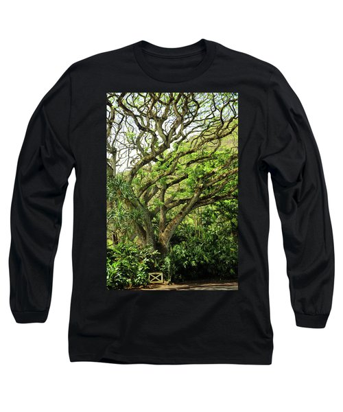 Hawaii Tree-bard Long Sleeve T-Shirt