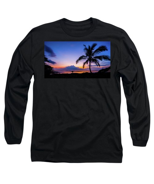 Hawaiian Dawn Colors Long Sleeve T-Shirt