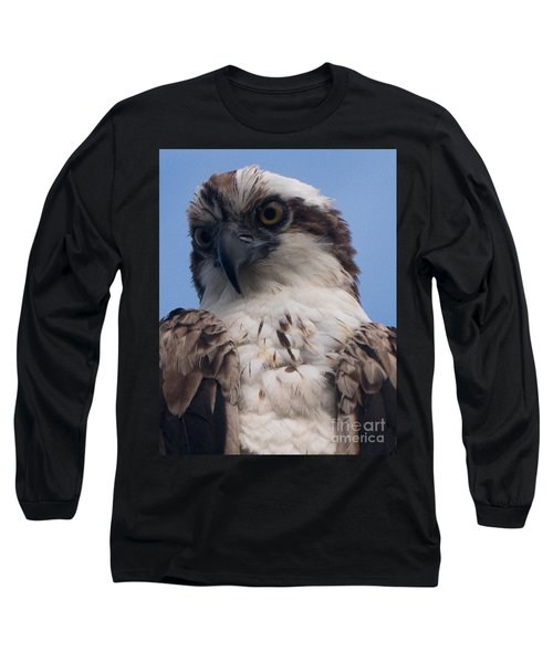 Hawk Profile Long Sleeve T-Shirt