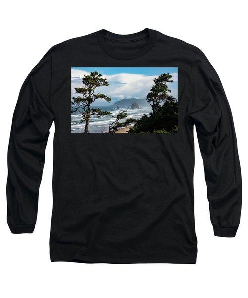 Haystack Views Long Sleeve T-Shirt