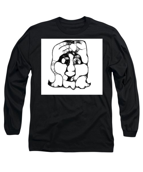 Head #2 Long Sleeve T-Shirt