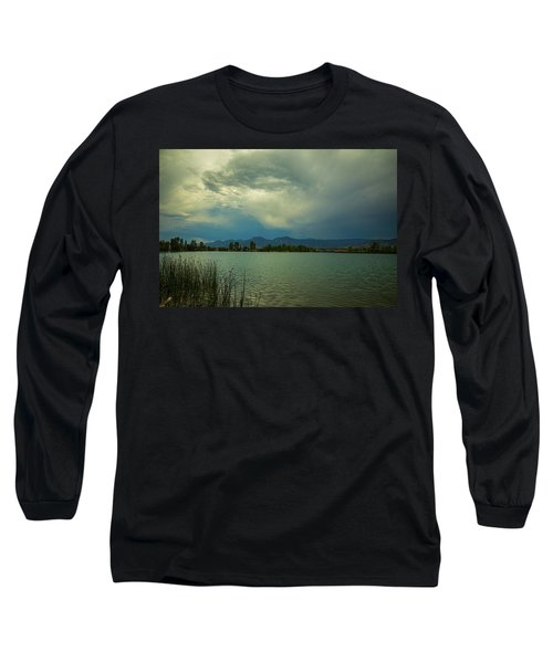 Long Sleeve T-Shirt featuring the photograph Head In The Clouds by James BO Insogna