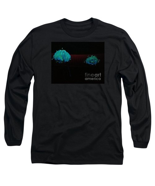 Long Sleeve T-Shirt featuring the photograph Heart Jelly by Vanessa Palomino