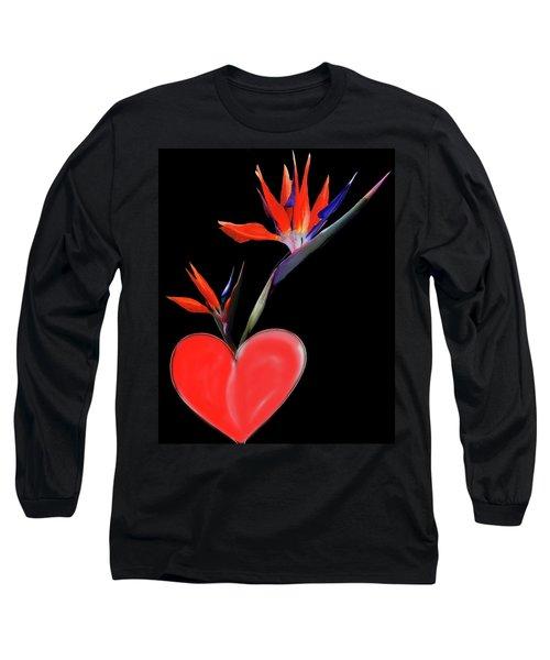 Heart  Of Paradise Long Sleeve T-Shirt