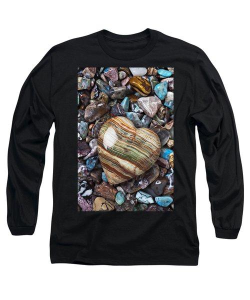 Heart Stone Long Sleeve T-Shirt