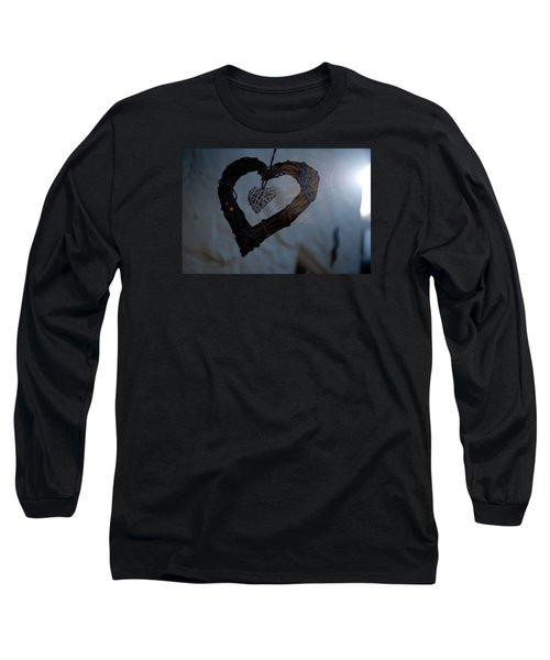 Heart With A Heart II Long Sleeve T-Shirt