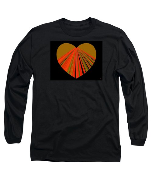 Heartline 5 Long Sleeve T-Shirt by Will Borden
