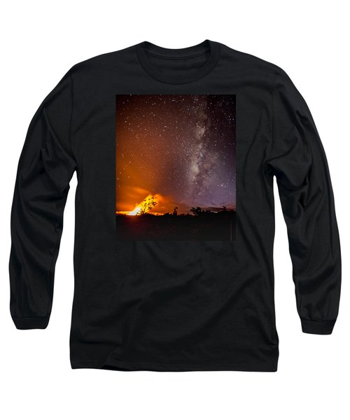 Heaven And Hell Long Sleeve T-Shirt by Allen Biedrzycki