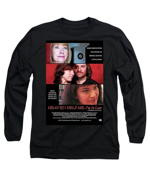 Heaven Help Me, I'm In Love Poster A Long Sleeve T-Shirt