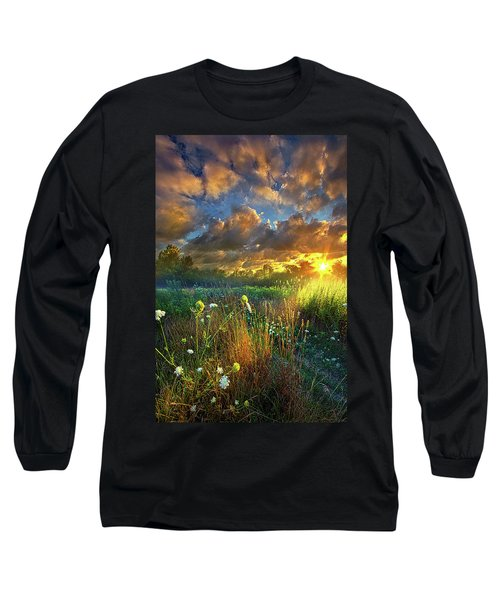 Heaven Knows Long Sleeve T-Shirt by Phil Koch