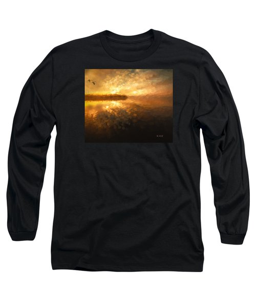 Long Sleeve T-Shirt featuring the painting Heavenly Journey by Rose-Maries Pictures