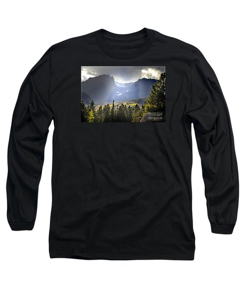 Long Sleeve T-Shirt featuring the photograph Heavenly Rockies  Rmnp by Nava Thompson
