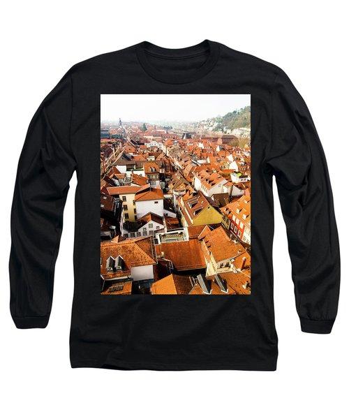Heidelberg Cityscape Long Sleeve T-Shirt