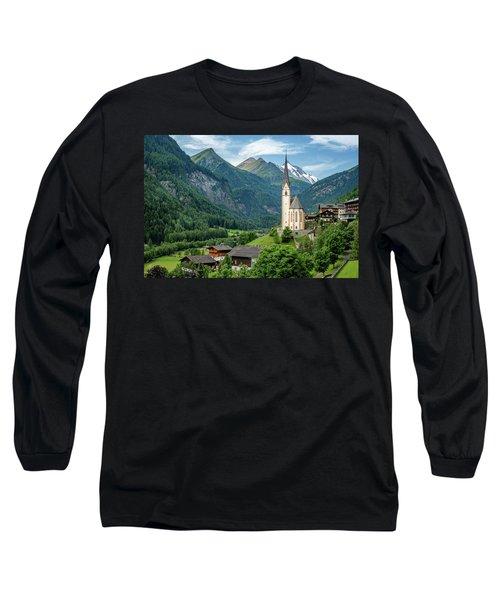 Heiligenblut Am Grossglockner Long Sleeve T-Shirt