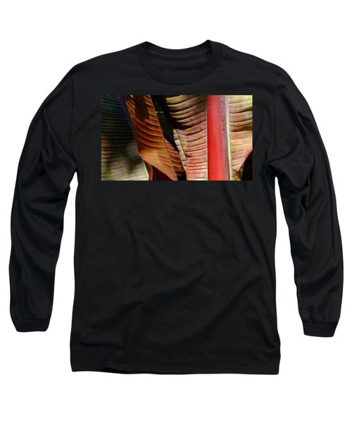 Heliconia Lines Long Sleeve T-Shirt