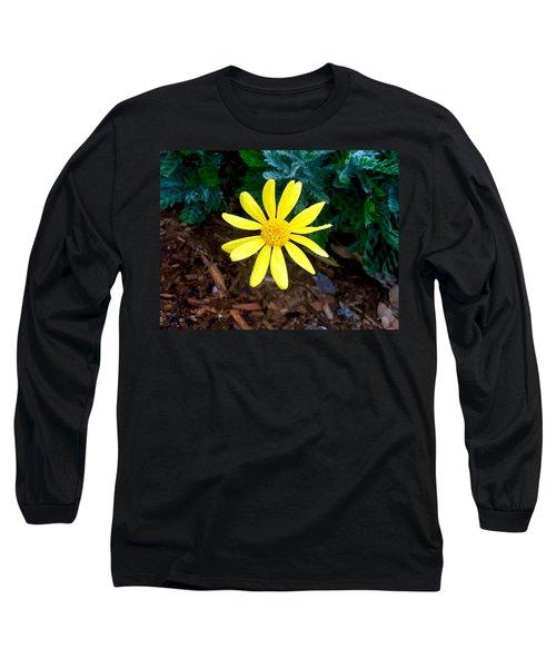 Hello Yellow Long Sleeve T-Shirt