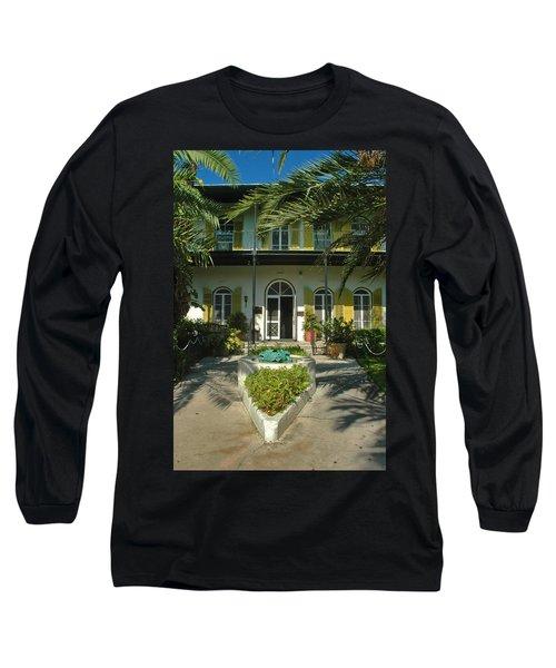 Hemingways House Key West Long Sleeve T-Shirt
