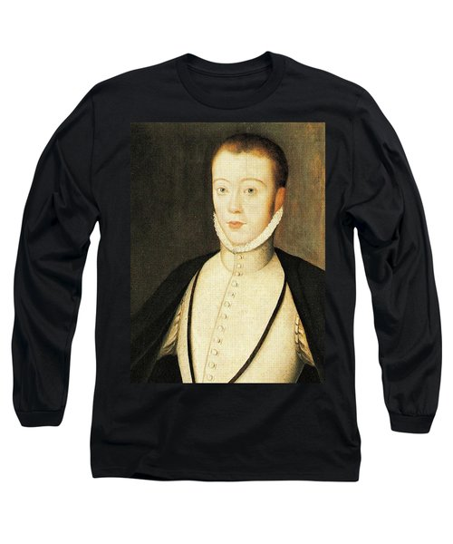 Henry Stewart Lord Darnley Married Mary Queen Of Scots 1565 Long Sleeve T-Shirt