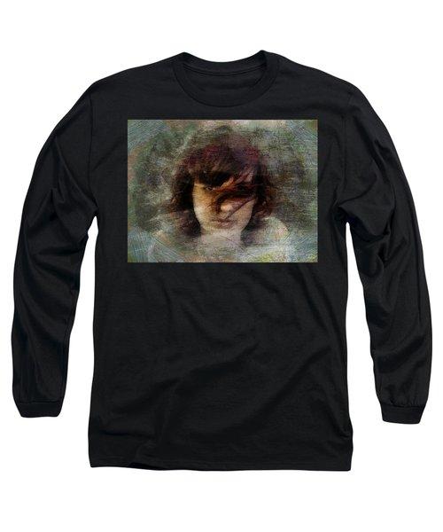 Her Dark Story Long Sleeve T-Shirt by Gun Legler