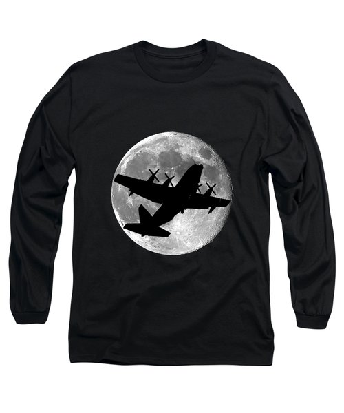 Hercules Moon .png Long Sleeve T-Shirt by Al Powell Photography USA