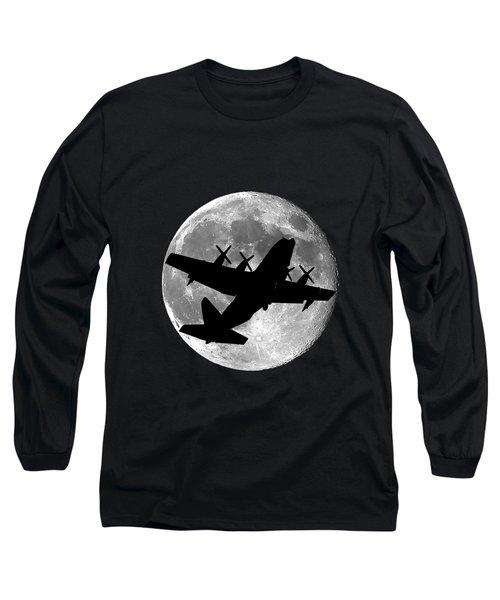Hercules Moon .png Long Sleeve T-Shirt