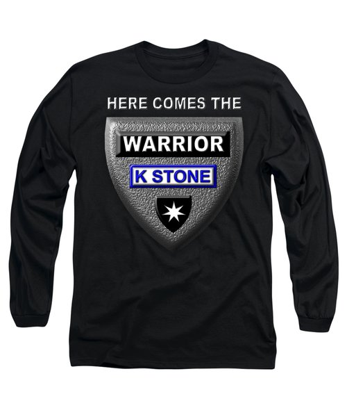 Here Comes The Warrior Long Sleeve T-Shirt