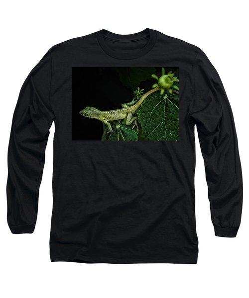 Here Lizard Lizard Long Sleeve T-Shirt