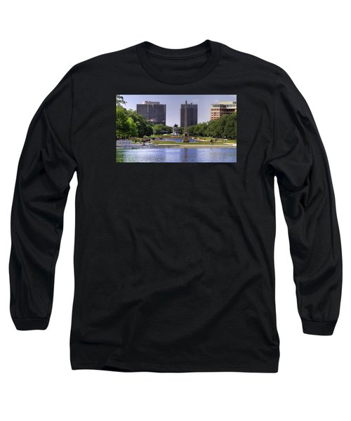 Hermann Park Long Sleeve T-Shirt by Tim Stanley