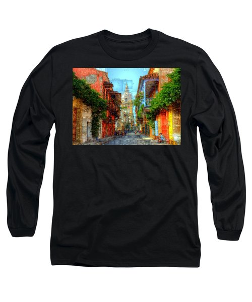 Heroic City, Cartagena De Indias Colombia Long Sleeve T-Shirt
