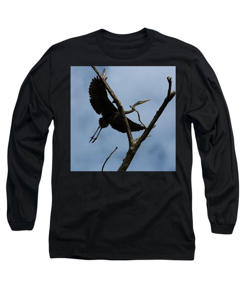 Heron Flight Long Sleeve T-Shirt
