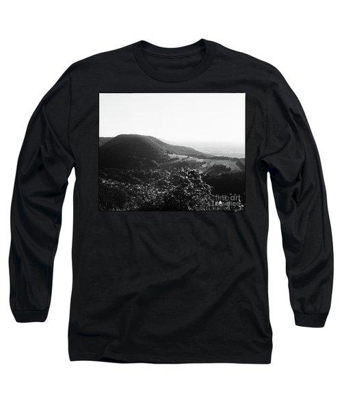 Heubach View Towards Scheuelberg Long Sleeve T-Shirt