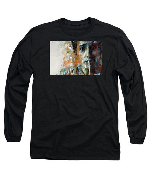 Hey Mr Tambourine Man @ Full Composition Long Sleeve T-Shirt