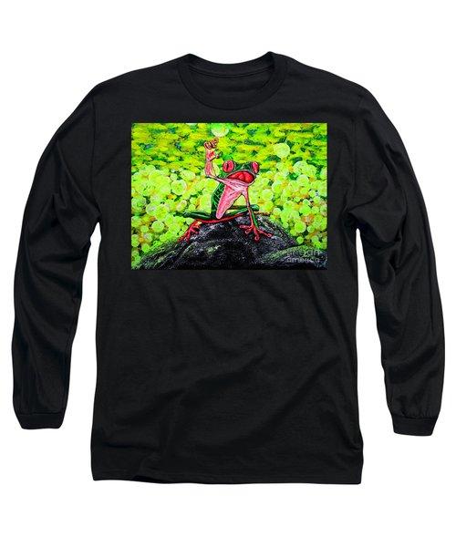 Hey  People Long Sleeve T-Shirt
