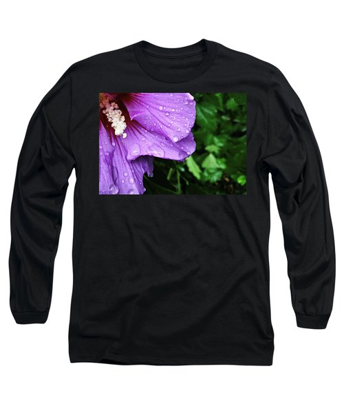 Long Sleeve T-Shirt featuring the photograph Hibiscus Corner by Robert Knight