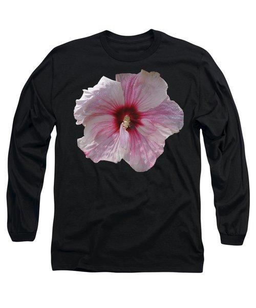 Hibiscus Long Sleeve T-Shirt by David and Lynn Keller