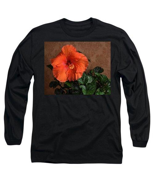 Hibiscus Fine Art Long Sleeve T-Shirt